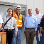 Congressman Matheson At Terminal Res